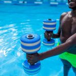 water workout, water aerobics